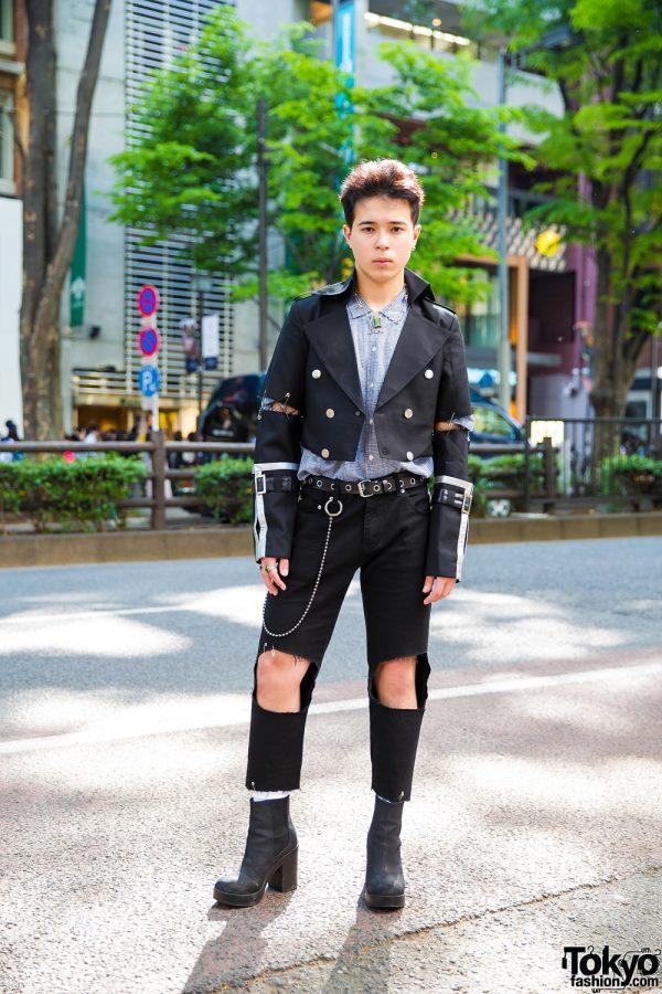 Edgy Handmade & Vintage Street Fashion w/ Paul Smith, H&M, Kinji & Oh Pearl