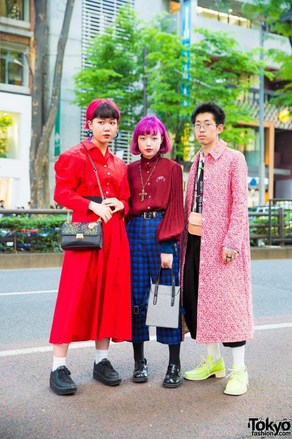 Harajuku Trio Streetwear Styles w/ Kinji, Titicaca, MYOB NYC, Bershka, Kobinai & Ba-Tsu Club