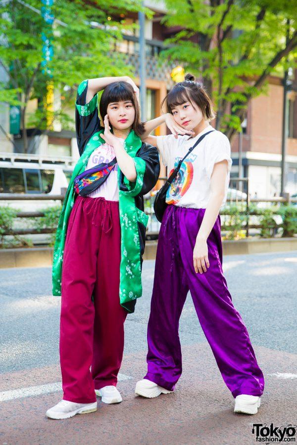 Harajuku Teens in Casual Street Fashion w/ Pinnap, Kiki2, Oh Pearl, Yosuke, Chicago, San To Nibun No Ichi & RRR Show Room