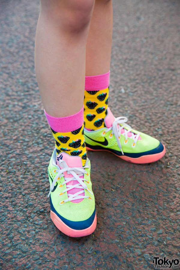 Happy Socks \u0026 Nike Sneakers – Tokyo Fashion