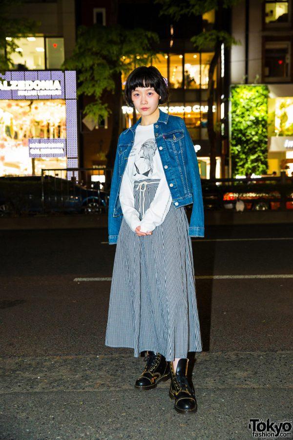 Harajuku Street Style w/ Levi's, Lenny Code Fiction, 3/4 Three Quarter & Dr. Martens