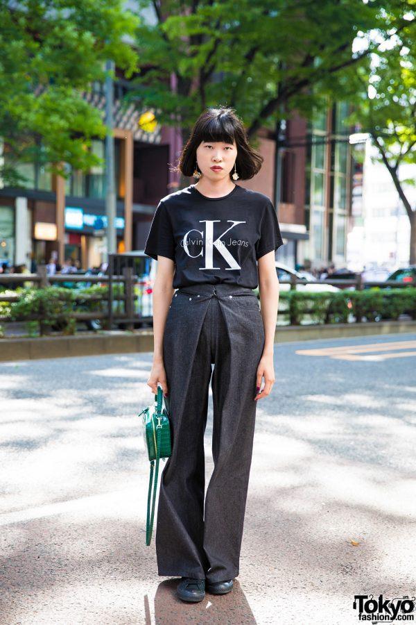 Harajuku Street Style w/ Zara, John Lawrence Sullivan, Adidas & Converse