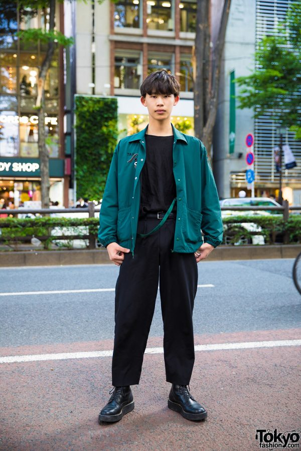 Tokyo Casual Streetwear Style w/ Toga & Yohji Yamamoto