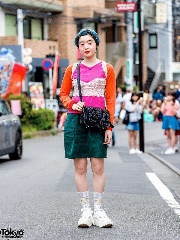 Tokyo Bopper Streetwear Look w/ Mercibeaucoup, Tommy Hilfiger, Tokyo Bopper Bag & Sneakers