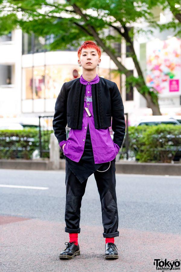 Harajuku Menswear Style w/ Comme des Garcons, Ambush, Paul Smith & Dr. Martens