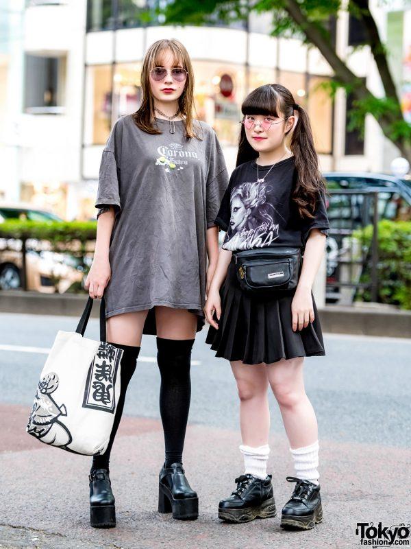Harajuku Girls Wearing Lady Gaga, Tennessee River, Bubbles, Kiki2, Kinji, WC, Yosuke & RRR by Sugar Spot Factory