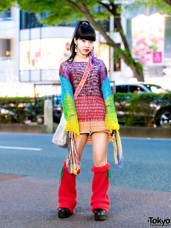 Colorful Vintage & Handmade Harajuku Street Fashion w/ Bubbles, Lovetoxic, Oh Pearl & Club Lovage