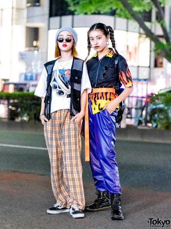 Harajuku Streetwear Styles w/ Spinns, Moussy, Fila, Warp, ME, Vans, Titicaca & Bubbles