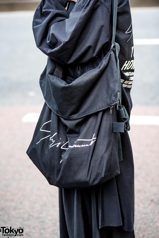 All Black Harajuku Street Styles W Rauco House Cruffin