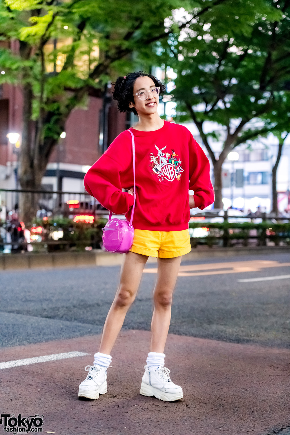 colorful 1980s inspired streetwear w looney tunes peco club wc