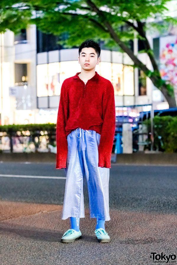 Tokyo Casual Street Style w/ Kenzo, AO, Nike, Vans x Gosha Rubchinskiy & BlackEyePatch