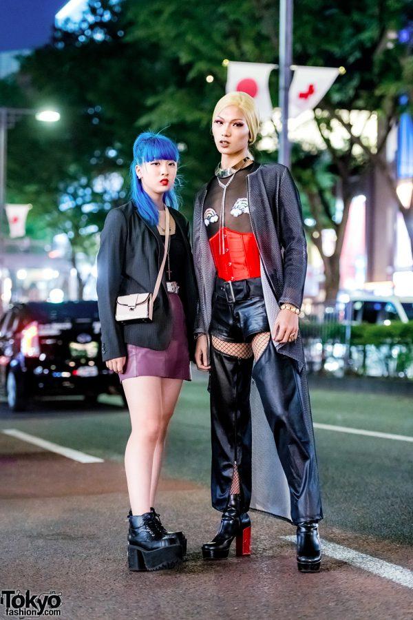 Edgy Harajuku Streetwear Styles w/ Boutique Takenoko, Oh Pearl, King Family, Yosuke, Prega & Versace