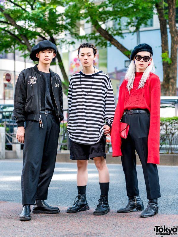 Harajuku Streetwear Styles w/ Comme des Garcons, Yohji Yamamoto, Rowan, Delada Knit & Louis Vuitton