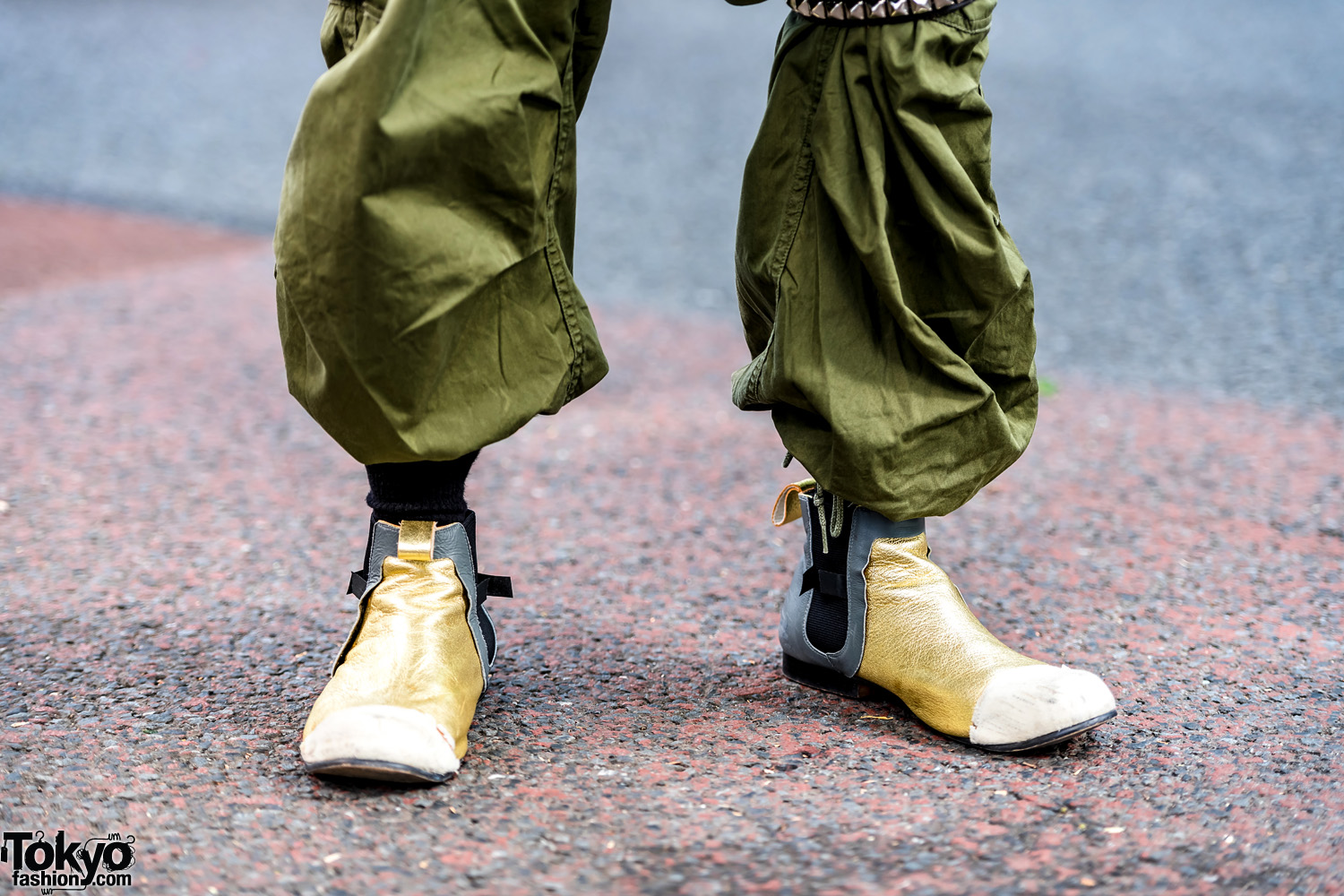 Green Camo Tactical Japanese Streetwear Style W Comme Des