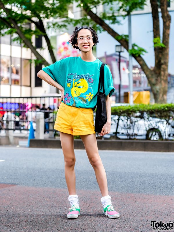 Tokyo Casual Style w/ One W Oh, Forever 21, Peco Club & Vans
