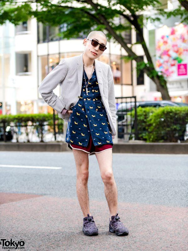 Harajuku Vintage & Designer Street Fashion w/ Thom Browne, Vetements & Ileana Makri