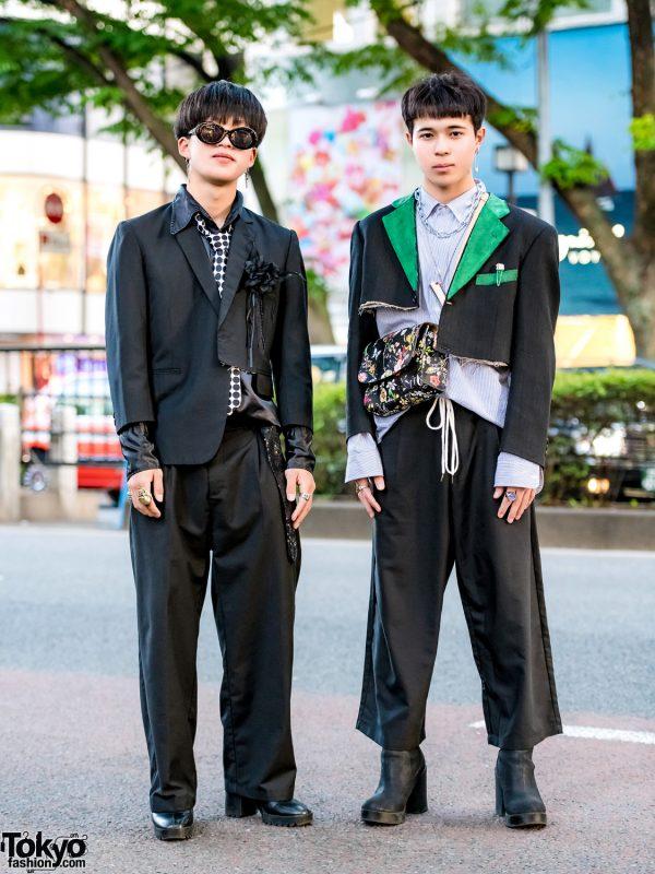 Harajuku Remake & Handmade Menswear Street Styles w/ Y's, Zara, Ambush & Kinji