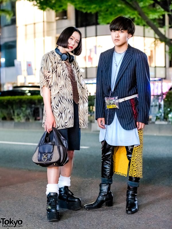 Harajuku Vintage Street Fashion w/ Another Youth, Comme Des Garcons Homme Plus, Estimation & Yosuke