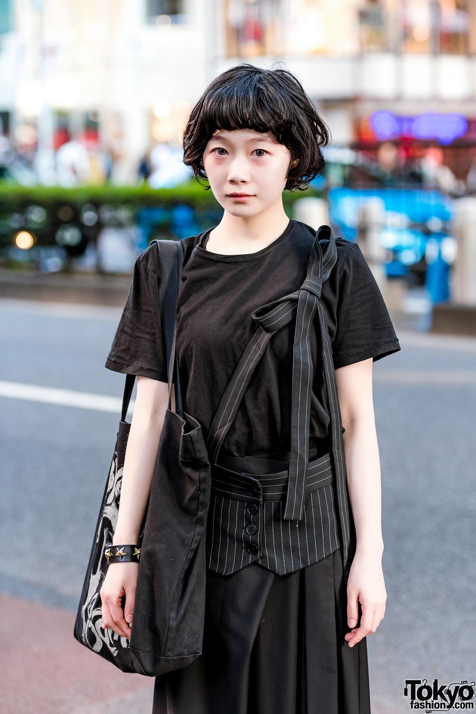 Minimalist Japanese Street Fashion W Yohji Yamamoto 3 4