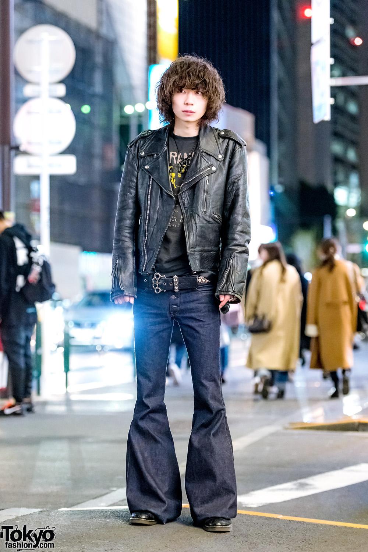 Tokyo Punk Inspired Vintage Streetwear Style W Shibuya