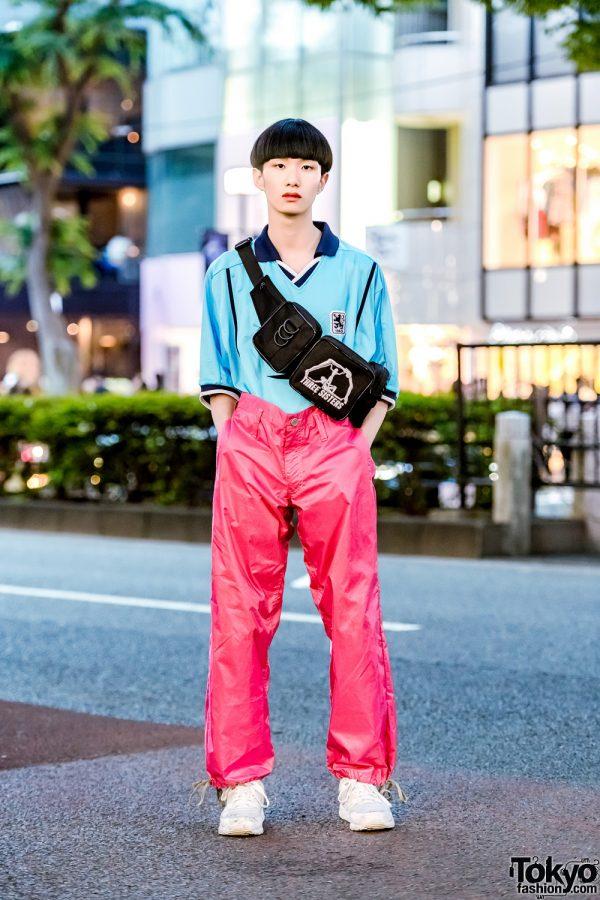 Sporty Minimalist Japanese Street Style w/ Nike, Comme des Garcons, Reebok & Three Sisters Waist Bag