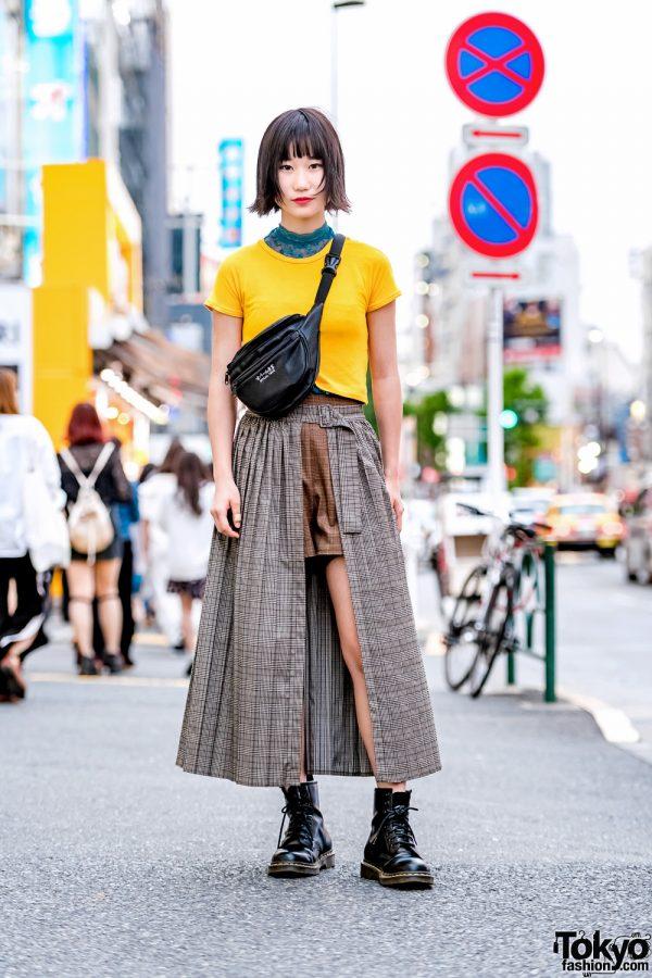 Tokyo Streetwear Style w/ Oh Pearl, Zara, Jouetie & Dr. Martens