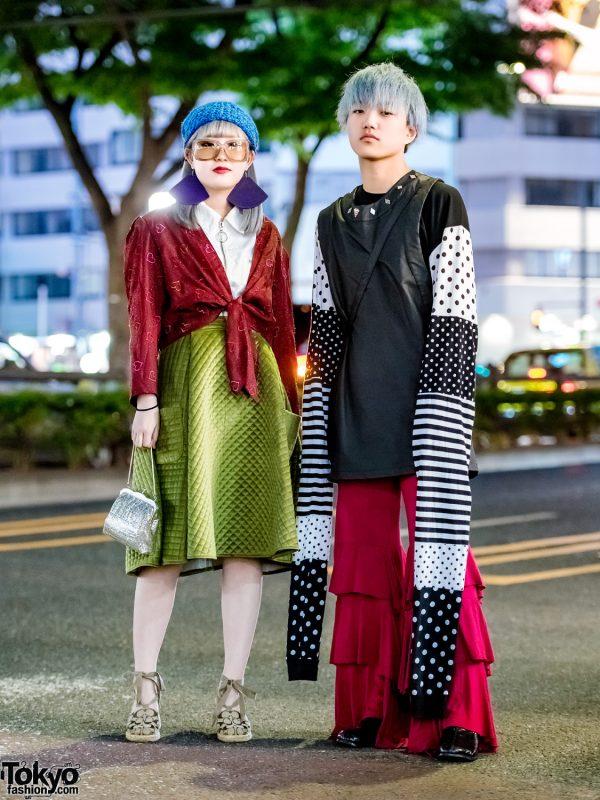 Japanese Street Styles w/ Extra Long Sleeves, Aymmy in the Batty Girls, Yaponskii, Yoko Fuchigami & UNIF