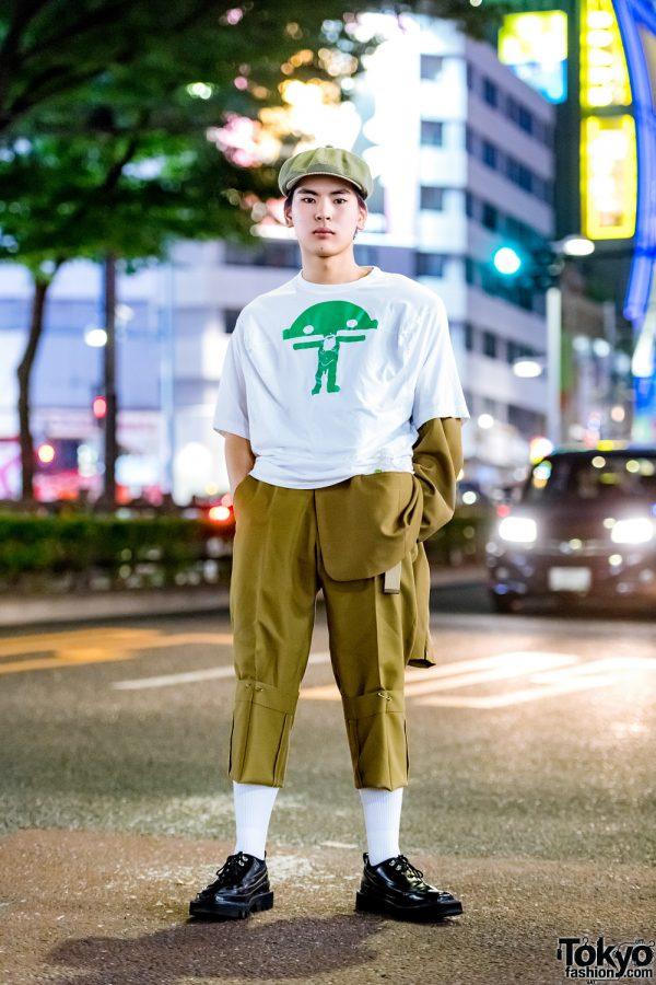 Tokyo Casual Vintage Streetwear Style w/ Soe, Walter Van Beirendonck & Rombaut