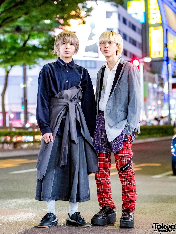bf36c34c3d8 Harajuku Menswear Street Styles w  KBF