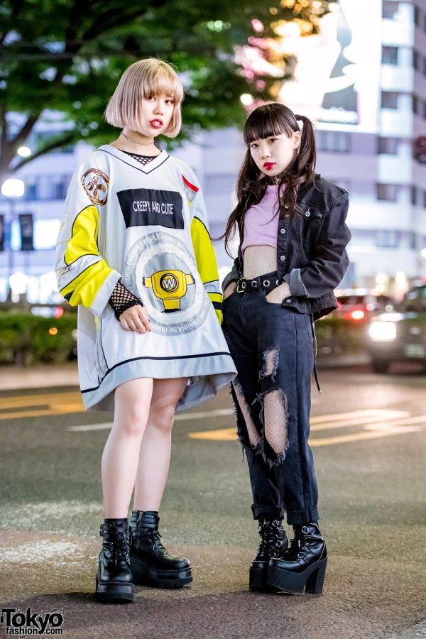 Harajuku Girls Streetwear Styles w/ Pinnap x Ecko, Kinji, W.I.A, Demonia, Dolls Kill & Dog Harajuku