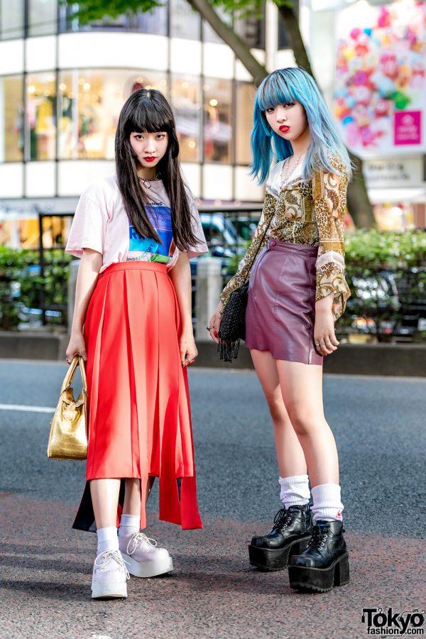 Harajuku Girls' Street Styles w/ RRR By Sugar Spot Factory, Pameo Pose, Alice on Wednesday, Vivienne Westwood & Yosuke