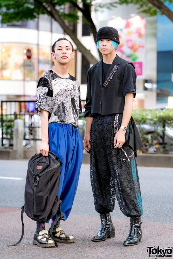 Harajuku Mens Streetwear Styles w/ Dr. Martens, Gucci, Kenzo, Vin, Remake Blazer & Mystery Ranch Backpack