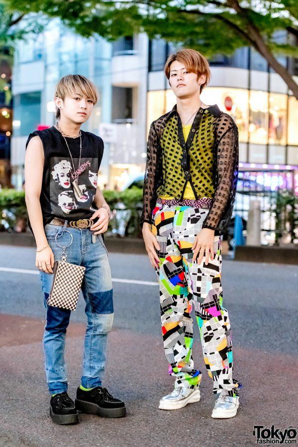 Harajuku Teens Streetwear Styles w/ N.Hoolywood, Demonia, Ambush, Diesel, Valentino, ESC Studio, UNIQLO & Vivienne Westwood