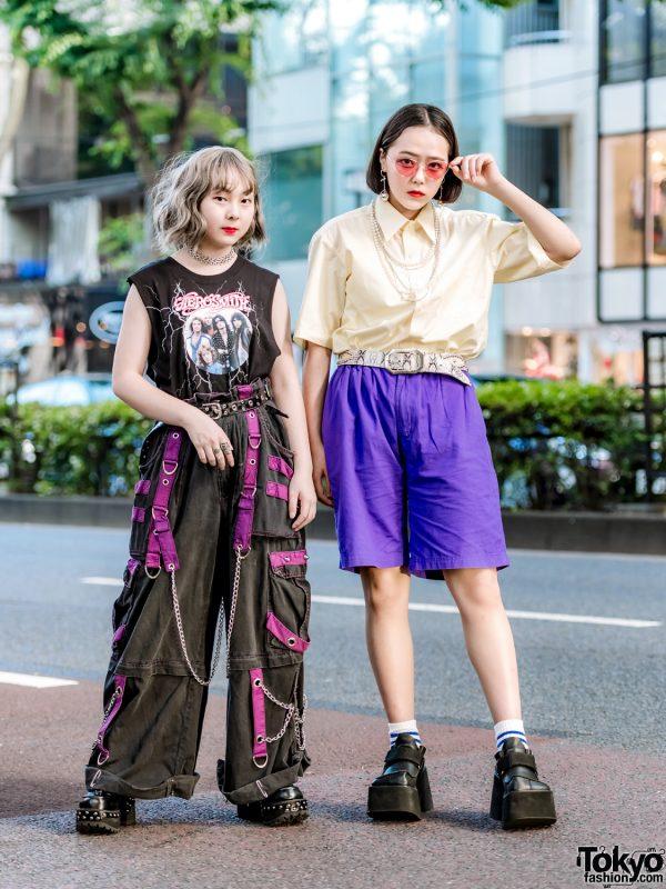 Harajuku Streetwear Styles w/ Vintage Fashion, Tripp NYC Pants, (Me) Harajuku & Yosuke