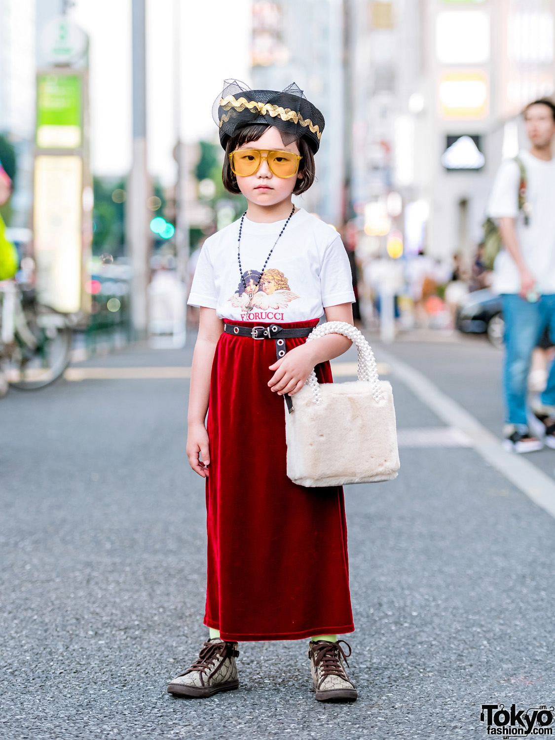 d33515f5ced50 7-year-old Coco in Harajuku w  Fiorucci T-Shirt