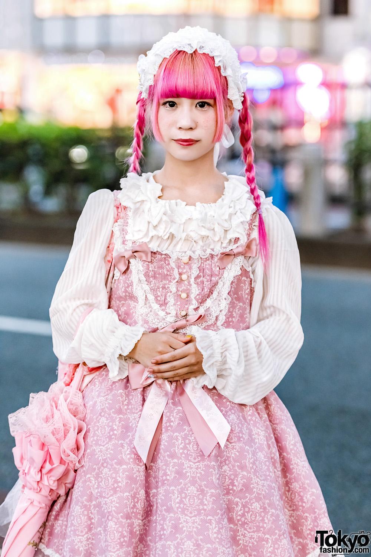 lolita harajuku japanese baby stars bright tokyo shine pink sweet candy outfit kawaii fille temps metamorphose street tokyotreat nomakenolife updates