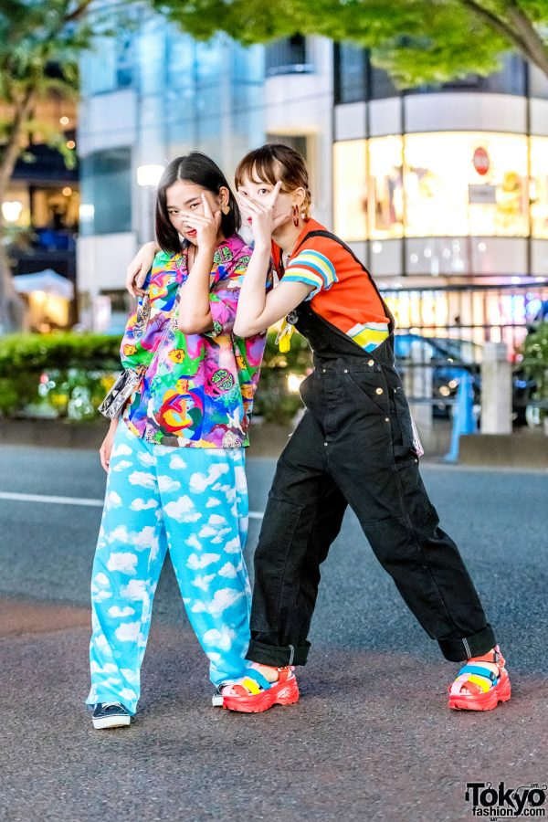 Japanese Kawaii Street Fashion w/ Kobinai, RRR By Sugar Spot Factory, Nana-Nana, OKAY!, Vans & Yosuke