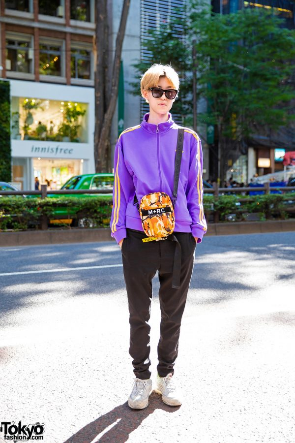 Sporty Casual Style in Harajuku w/ Nerdy, H&M, Givenchy, M+RC Noir & Supreme x Nike Air Max 98 Sail Sneakers