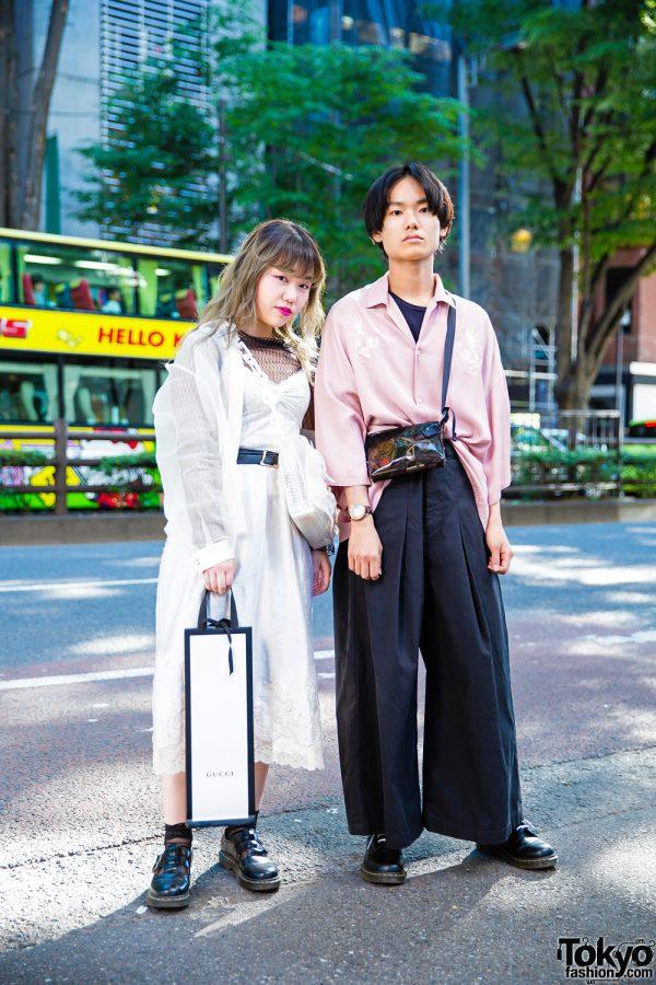 Harajuku Duo's Street Styles w/ LAD Musician, Mame, Dr. Martens & JieDa