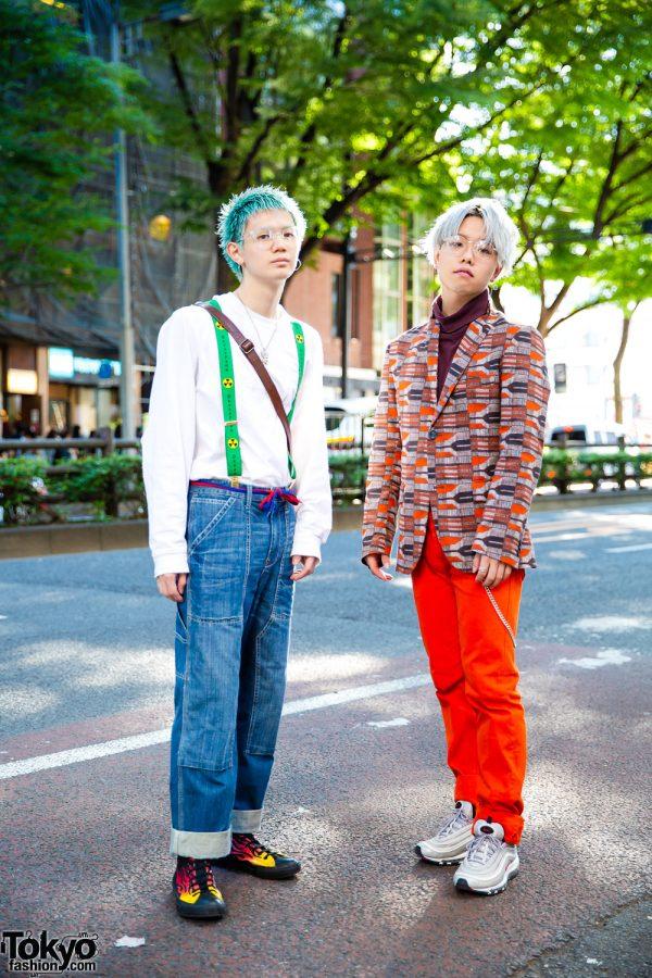 Harajuku Menswear Street Styles w/ Gosha Rubchinskiy, Carhartt, Converse, Nike & Gucci