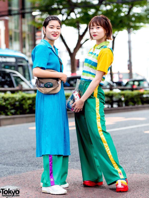 Harajuku Girls Streetwear Styles w/ RRR By Sugar Spot Factory, Nike, FILA, Kinji & Nana-Nana