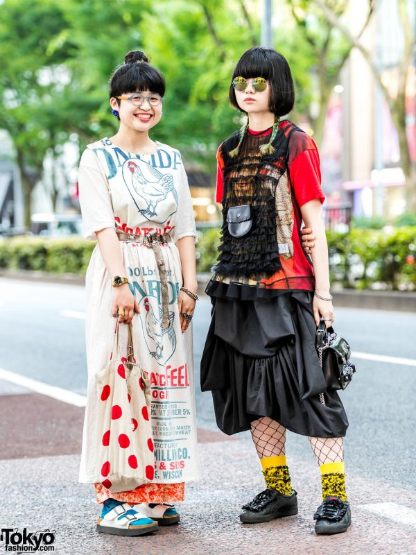 Harajuku Street Styles w/ Sokkyou Vintage, Undercover, Comme des Garcons, Onitsuka Tiger, Serge Thoraval & Bernhard Willhelm