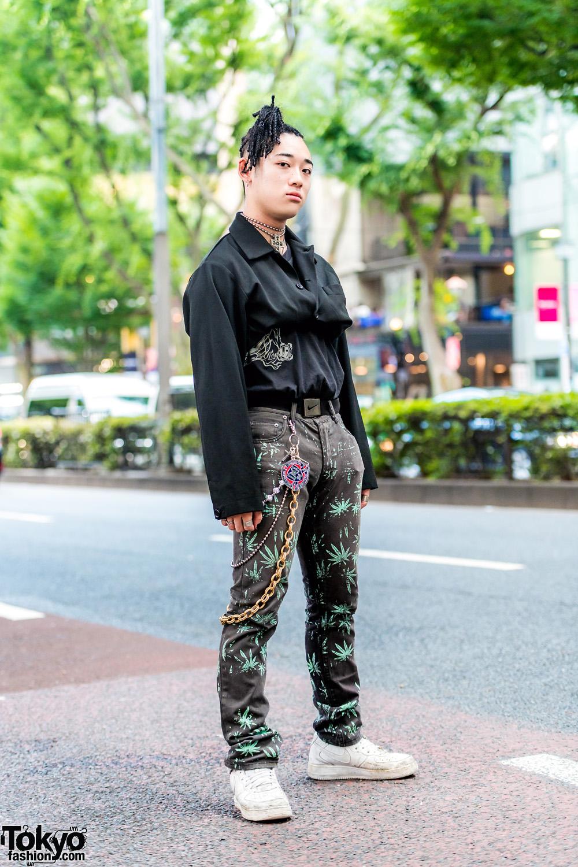 Japanese Streetwear Fashion W Nike Air Force 1 Adidas