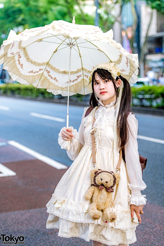 Infanta Elegant Love Canary JSK Lolita Dress
