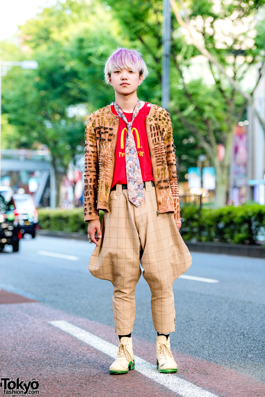 40086e45669 Eclectic Tokyo Street Style w  Kinji Harajuku Jacket