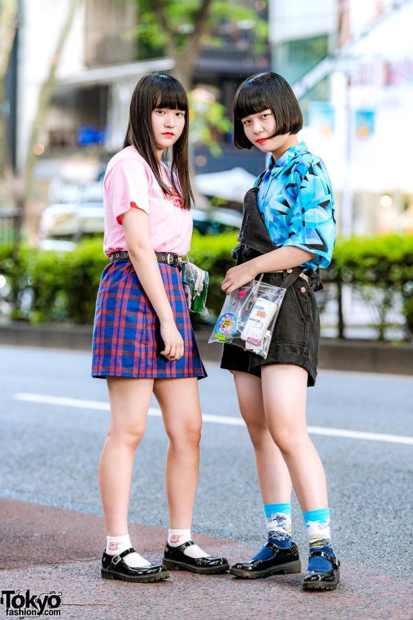 Harajuku Girls' Casual Streetwear w/ 7% More Pink, Kinji, Ibuki Sakai & H&M Patent Leather Shoes