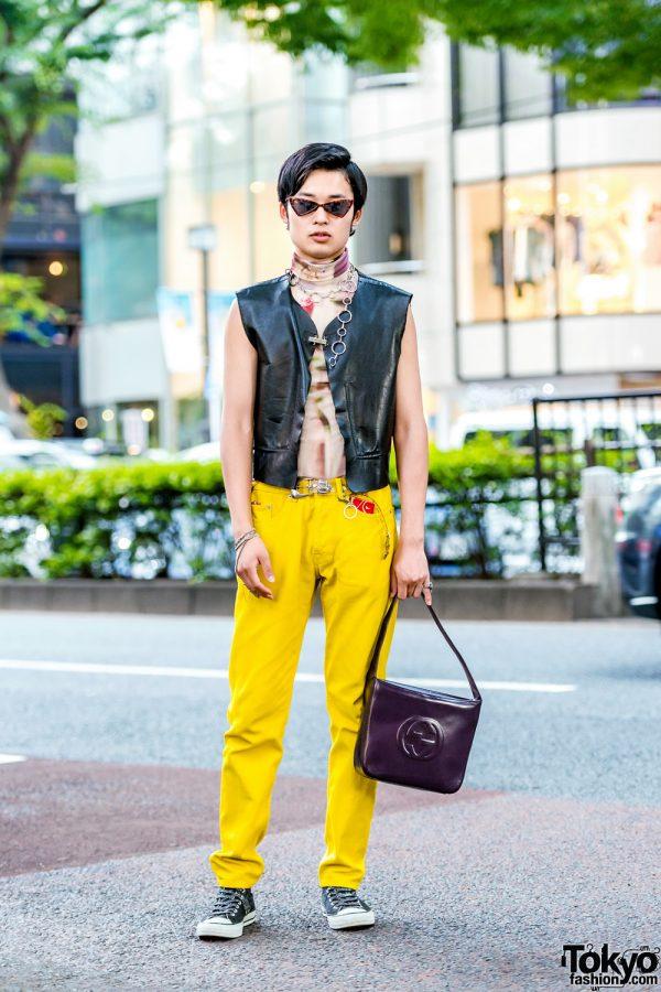 Harajuku Street Style w/ Dirk Bikkembergs, Dries Van Noten, Gucci, Yoshiko Creation & Jean Paul Gaultier