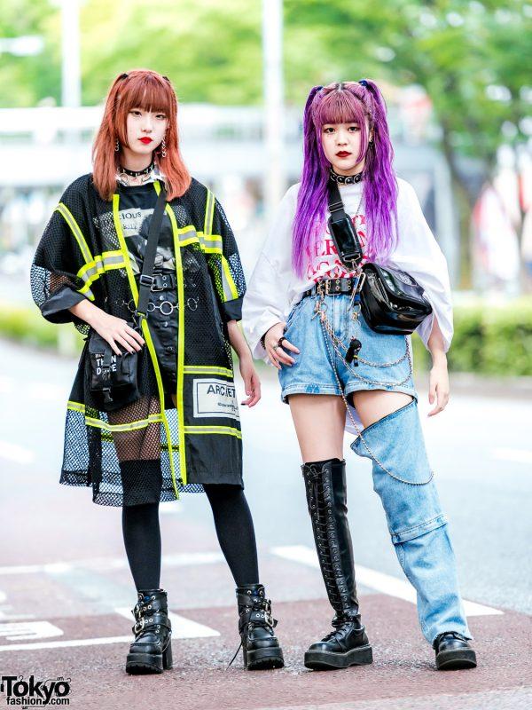 Japanese Streetwear Styles w/ (ME) Harajuku, Open The Door, Never Mind the XU, Demonia, DYOG & WEGO