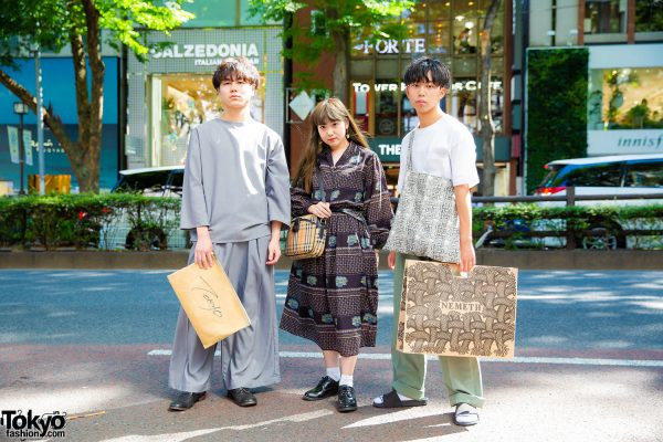 Tokyo Vintage Streetwear Styles w/ Christopher Nemeth, Burberry, Keisuke Yoneda, Matatabi & Adam Et Rope'