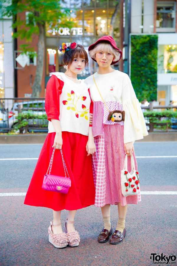 Harajuku Girls in Strawberry Street Styles w/ Another Libra, RUBY AND YOU, CA4LA, Merlot & Chanel